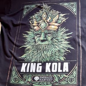 King Kola Emerald Harvest tshirt